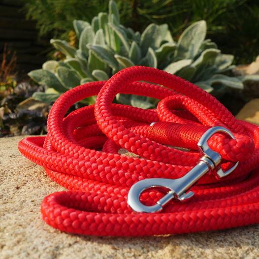 Поводок для собак (красный)