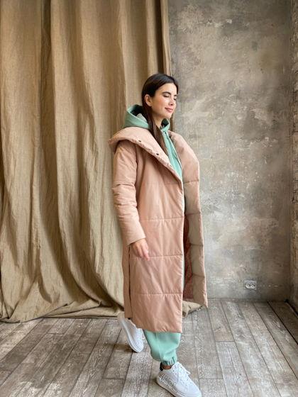 Пальто «Cotton» бежевый