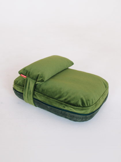 Лежанка-подушка PILLOW |  40x50 | Зеленый — BRIGHT GRASS