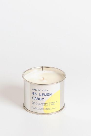 Свеча соевая Smells Like. #5 Lemon Candy, 180г