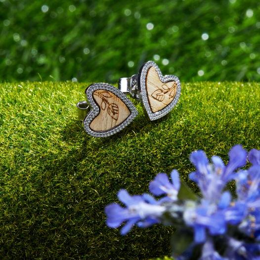 Серьги из коллекции Сердце