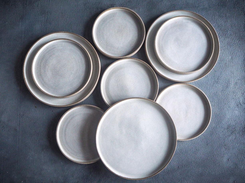 Тарелка из серии Изморозь, 23 см.