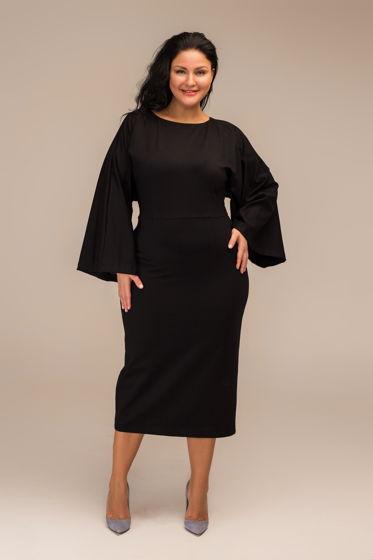 Черное платье KIMONO