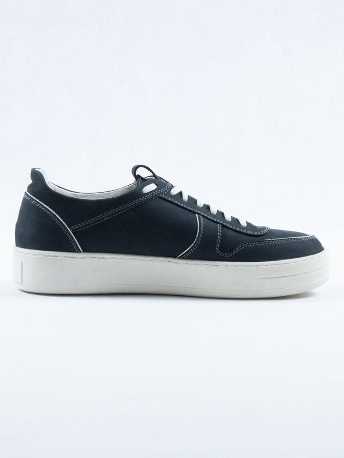 Кеды нубук, синие/ Arcadia Shoes