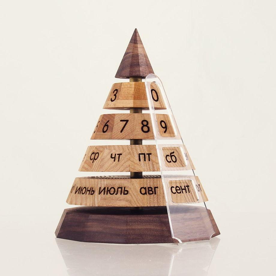 """Магнитный вечный календарь """"Пирамида"""""""