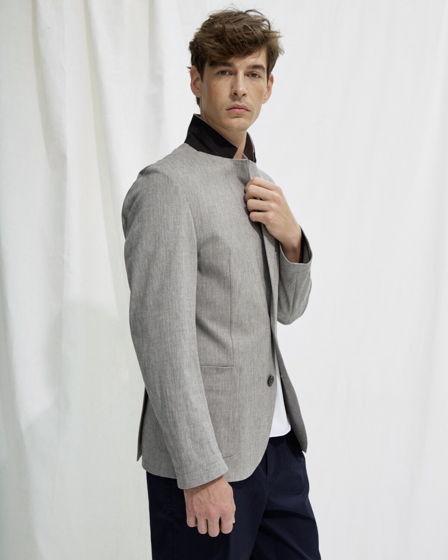 Пиджак #2 – серый хлопок