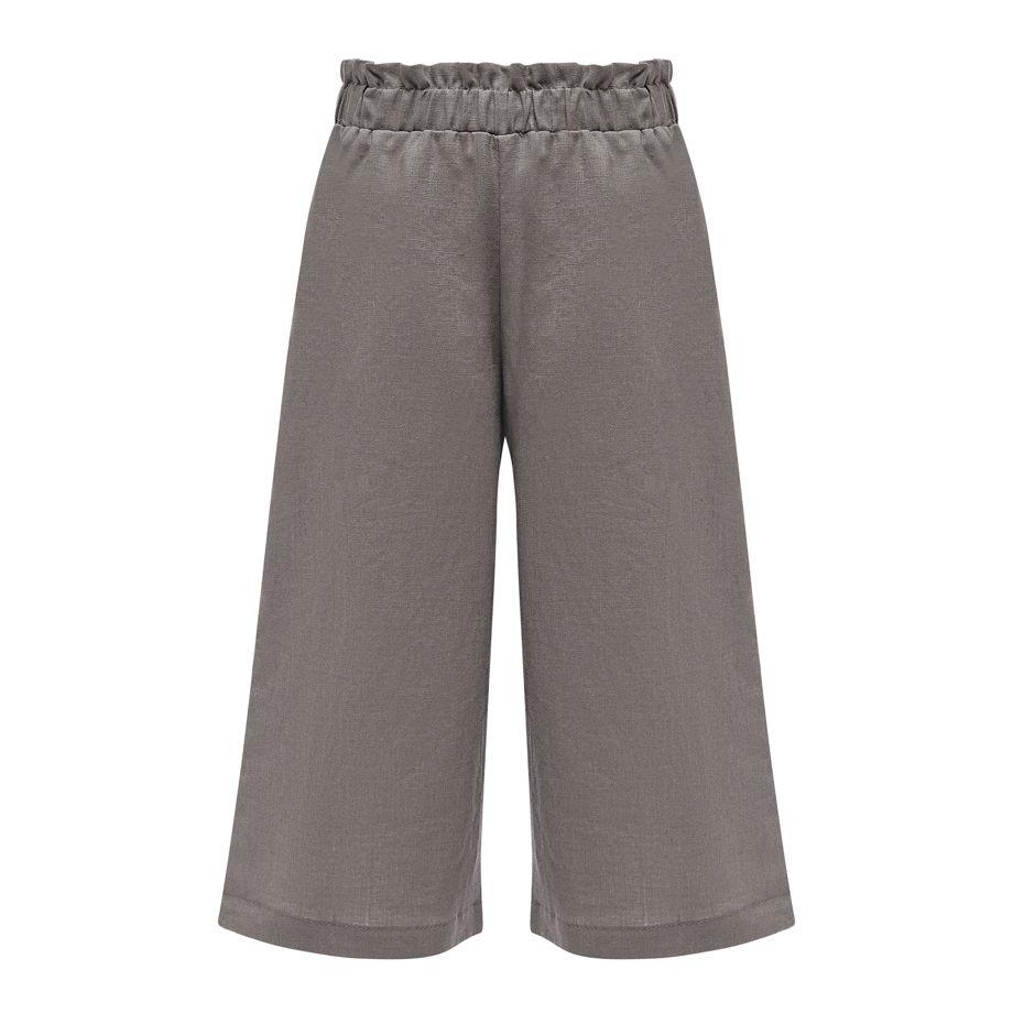Льняные брюки KIANA GREY