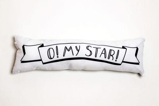 Подушка декоративная «O! My star!»  - подарок на 14 февраля.