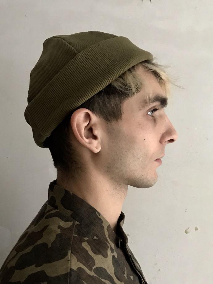 шапка хлопковая трикотажная N13L