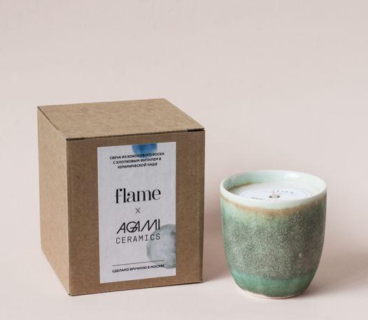 D'or Blue - свеча в фарфоре - аромат Alisa