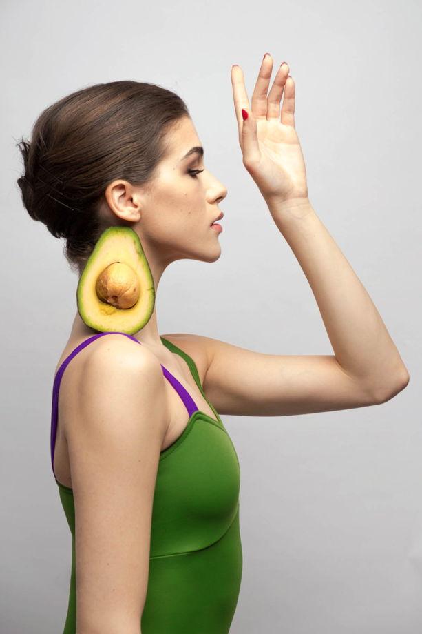 Купальник Лямка colour | травяной для балета / танцев