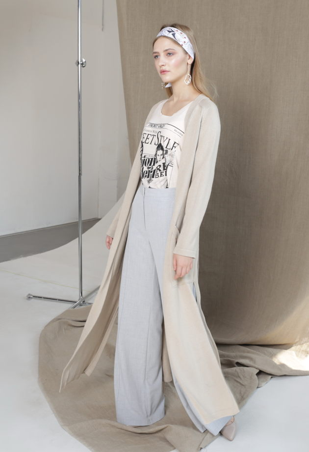 Широкие брюки- палаццо женские