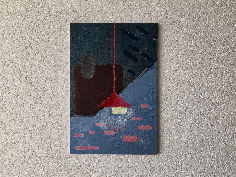 Картина «Свет выключи», 20х30см