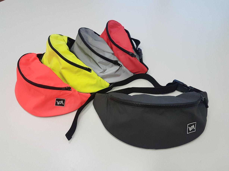 Набедренная, светоотражающая сумка