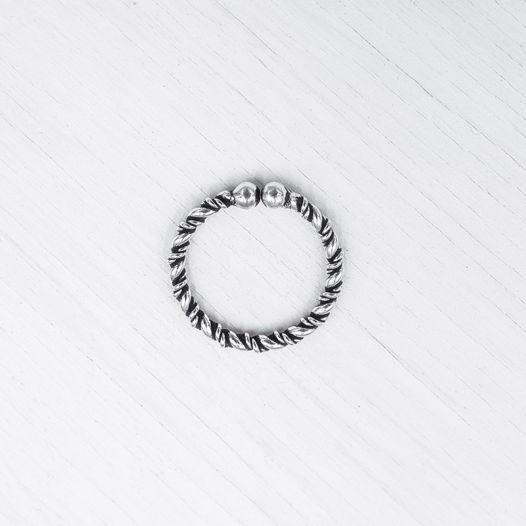 Септум обманка из серебра 017