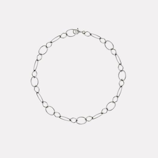 Колье - цепь из серебра