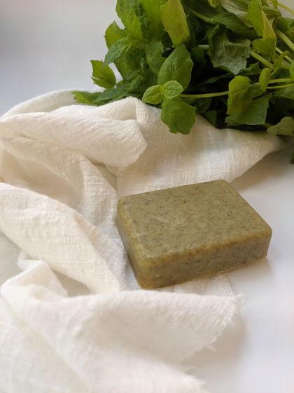 Мыло для тела мятное