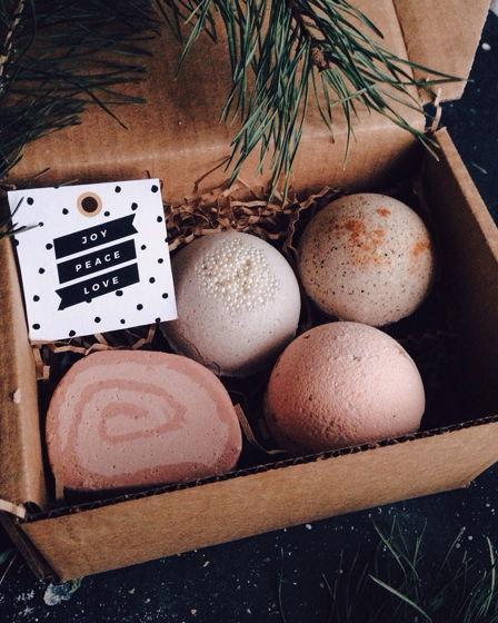 """Подарочный набор для ванны """"Латте и шампанское"""""""