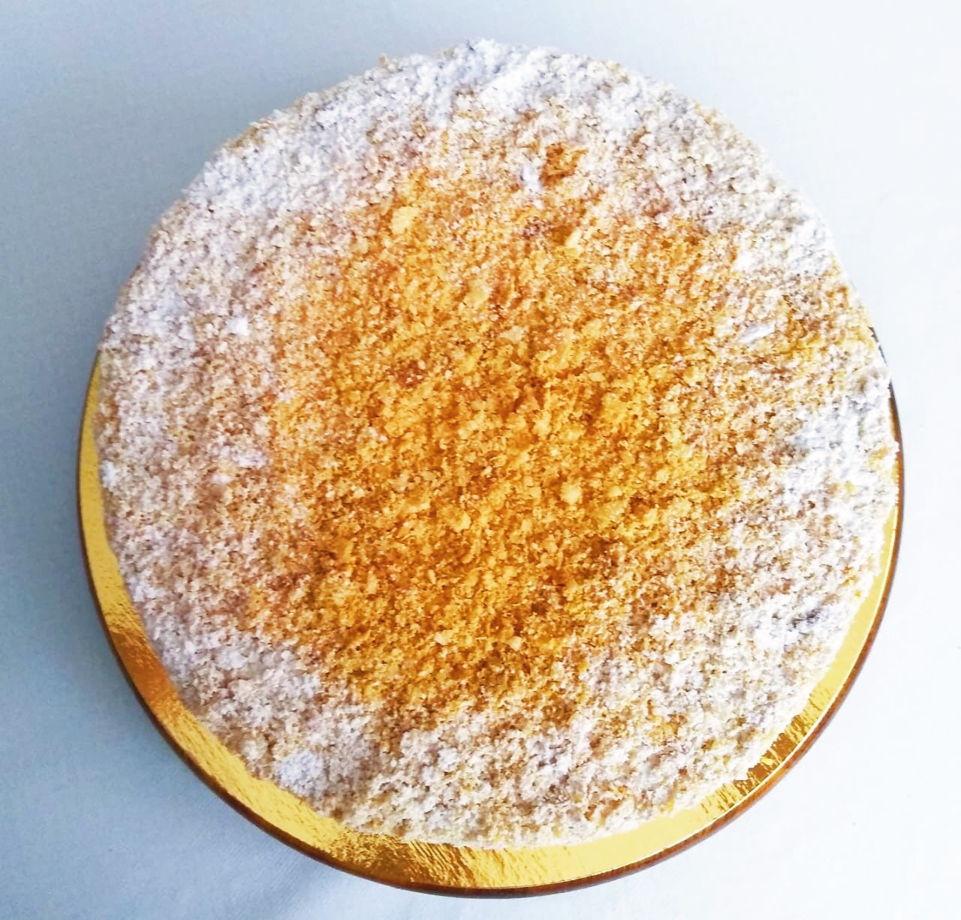 Торт Наполеон (с фруктами и без)