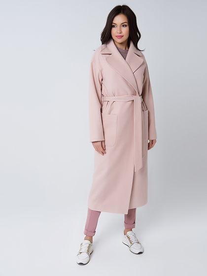 Весеннее пальто двубортное