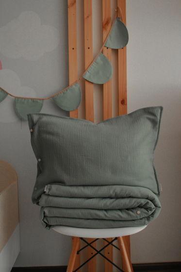Детское постельное белье из муслина, 100/120 см