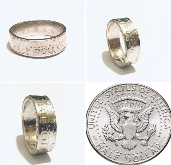 Кольцо из счастливого доллара