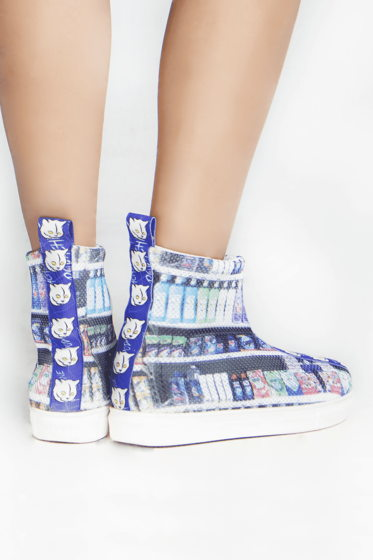 Завышенные кроссовки Podachineciaga Market