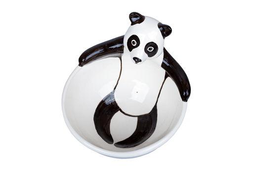 керамическая пиала Расслабленная панда