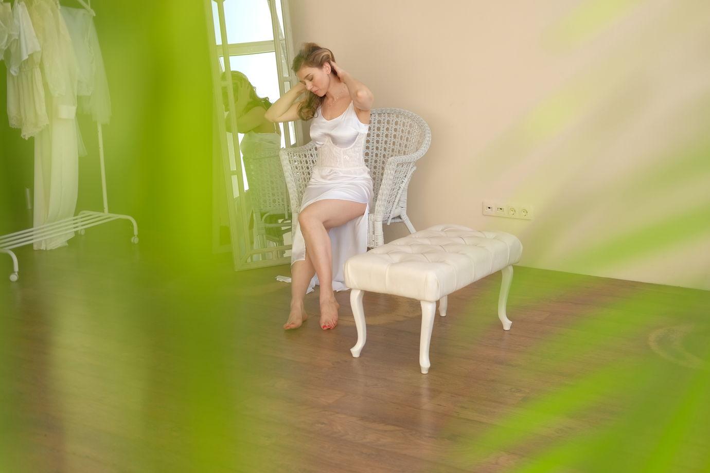 """Кружевной корсет """"Diana"""" на косточках"""