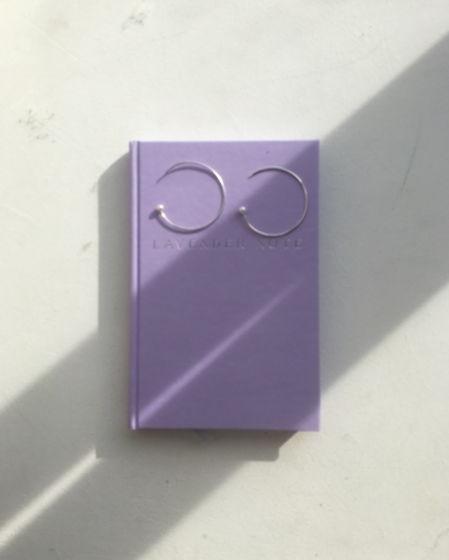 серьги кольца с речным жемчугом