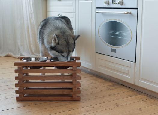 Подставка из бука c мисками Asia Fusion L для больших собак