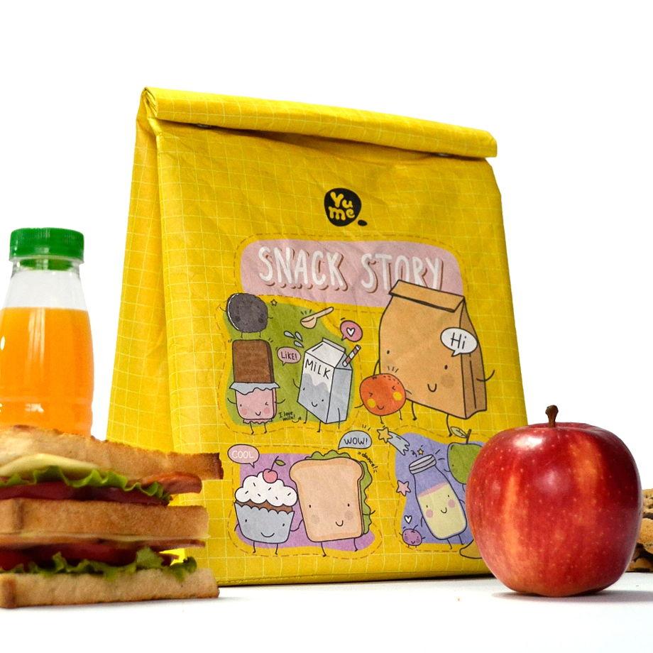 "Термосумка Youshi Lunch Bag ""Snack Story"" от YuMe"