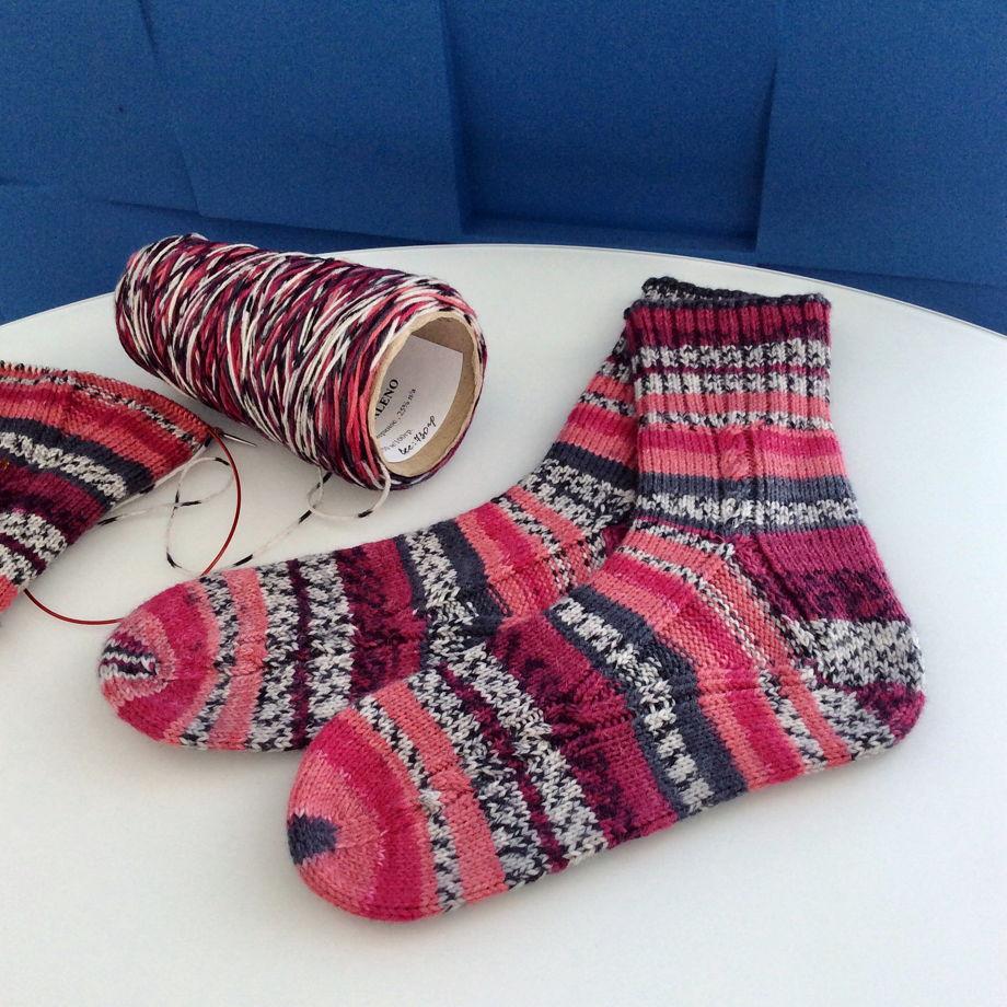 Носки из мериноса