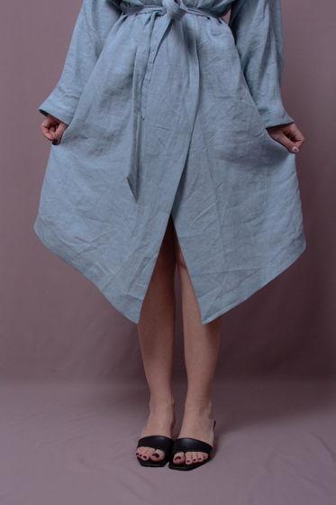 Платье-халат Отражение Неба