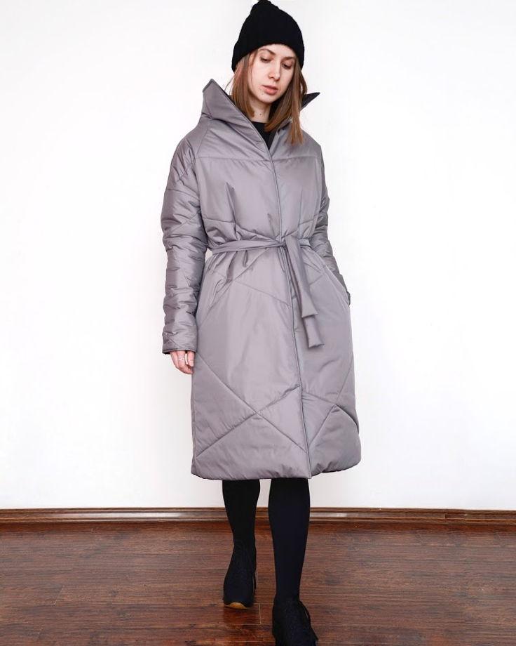 """Зимнее двухстороннее пальто """"Ворот""""."""