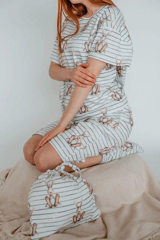 Пижама футболка и шорты