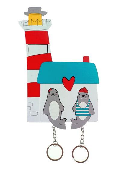 ключница «маяк моржи х2»