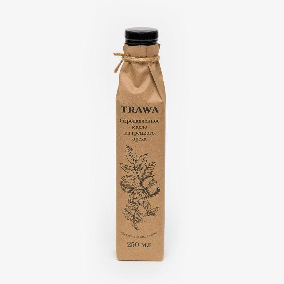 Сыродавленное масло грецкого ореха TRAWA, 250 мл