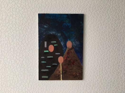 Картина «Опека», 20х30см