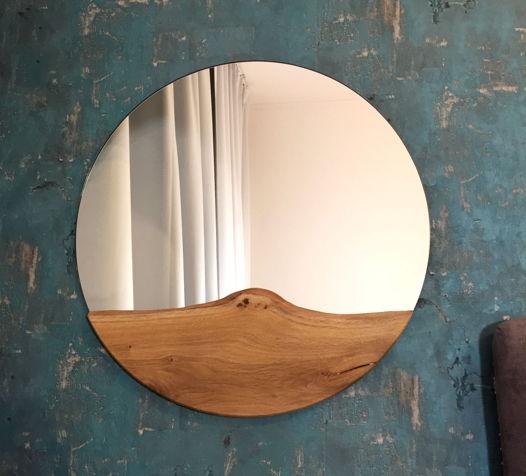 Круглое зеркало D 40-50 см