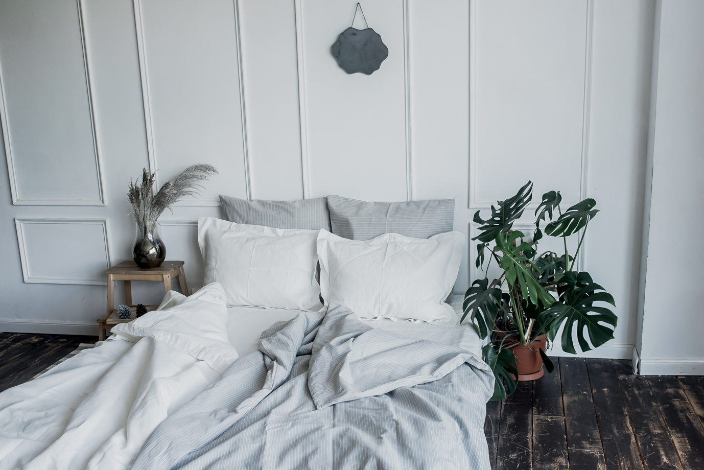 ГЕНДЕРНЫЙ набор постельного белья из 100% льна, 5 РАСЦВЕТОК