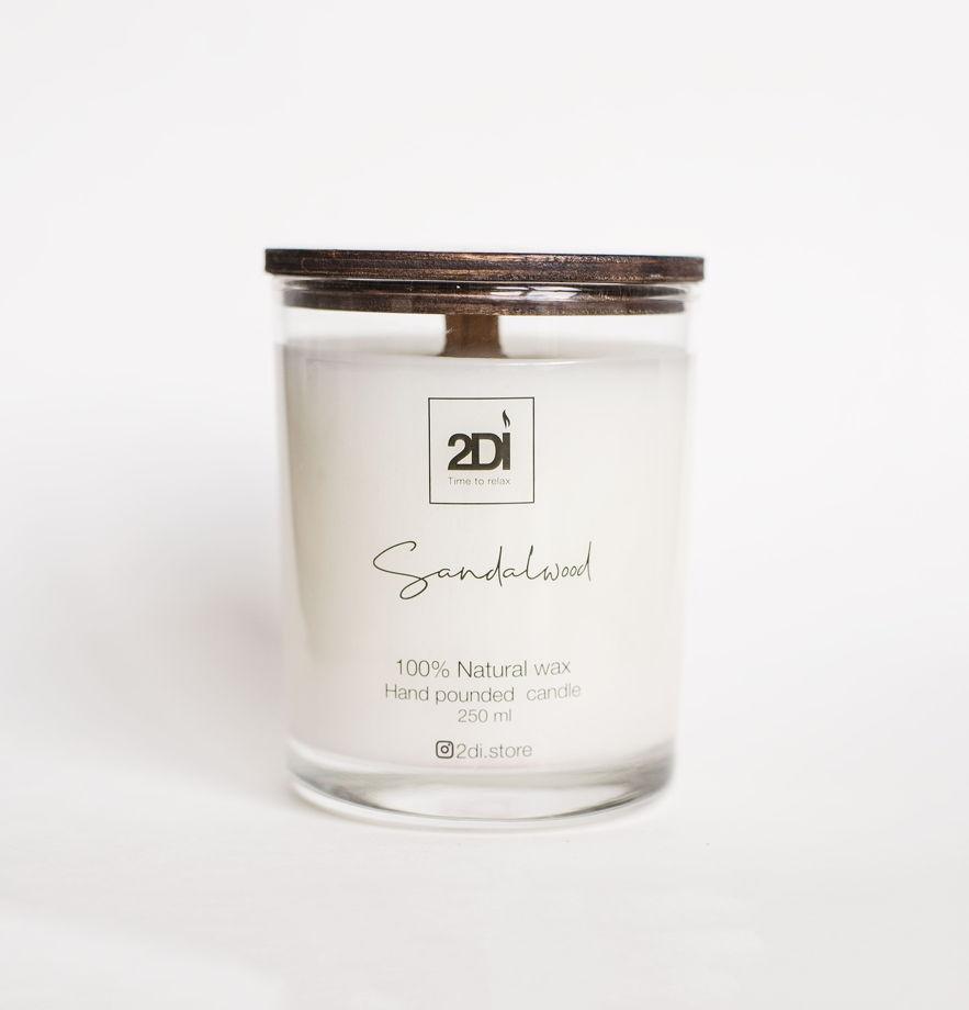 Ароматическая свеча 190 мл,Sandalwood, Сандаловое дерево