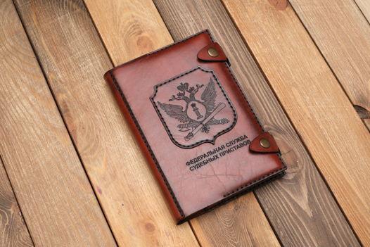 Ежедневник с символикой силовых структур