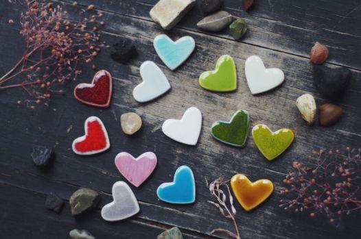 Маленькое керамическое Сердце