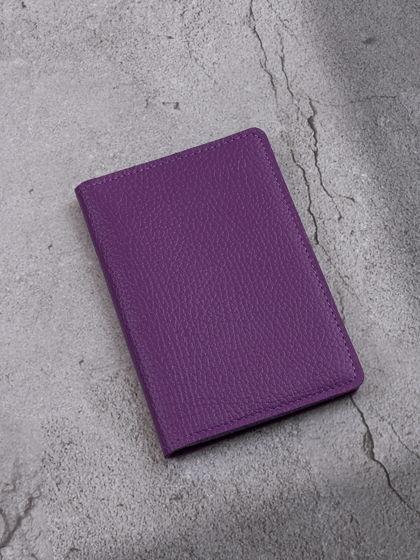 """Обложка для паспорта """"Verona"""" Гермес Фиолетовый"""
