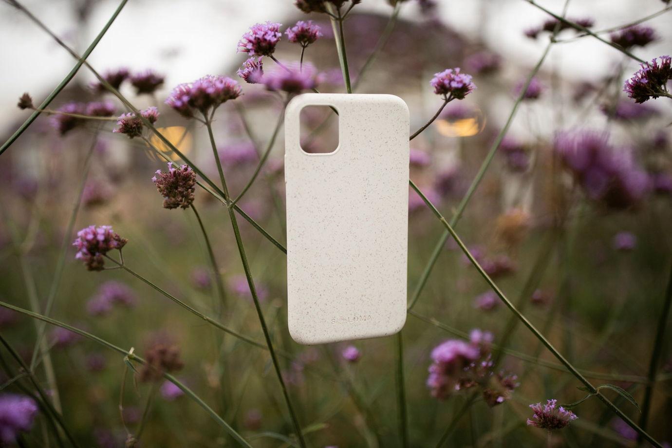 Биоразлагаемый чехол SOLOMA для iPhone 7/8 Пшеница
