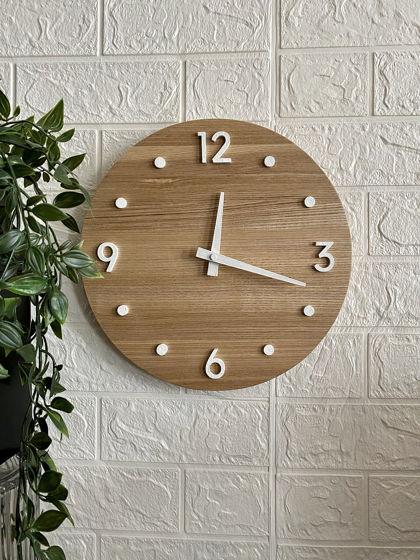 Часы настенные с 4 цифрами и точками