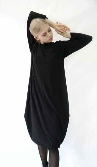 Платье ромб-трансформер | черный