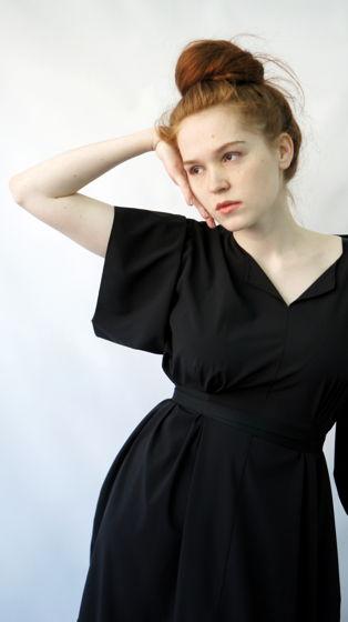 Платье Маш   черный