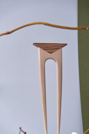 Заколка шпилька для волос геометрия